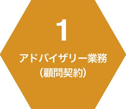 1 アドバイザリー業務(顧問契約)