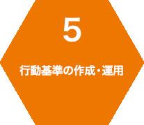 5 行動基準の作成・運用