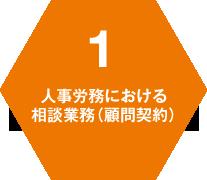 1 人事労務における 相談業務(顧問契約)