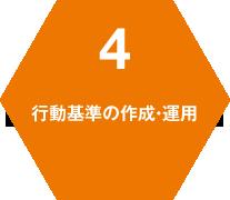 4 行動基準の作成・運用