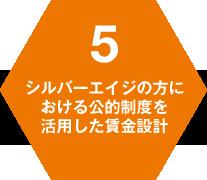 5 シルバーエイジの方における公的制度を活用した賃金設計