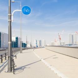 従業員が自転車で通勤するリスクに、対策をとっていますか?